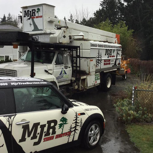 MJR Tree Service Equipment Victoria Duncan Nanaimo Courtenay Campbell River