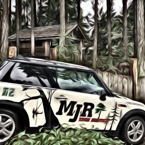 MJR Tree Service Car